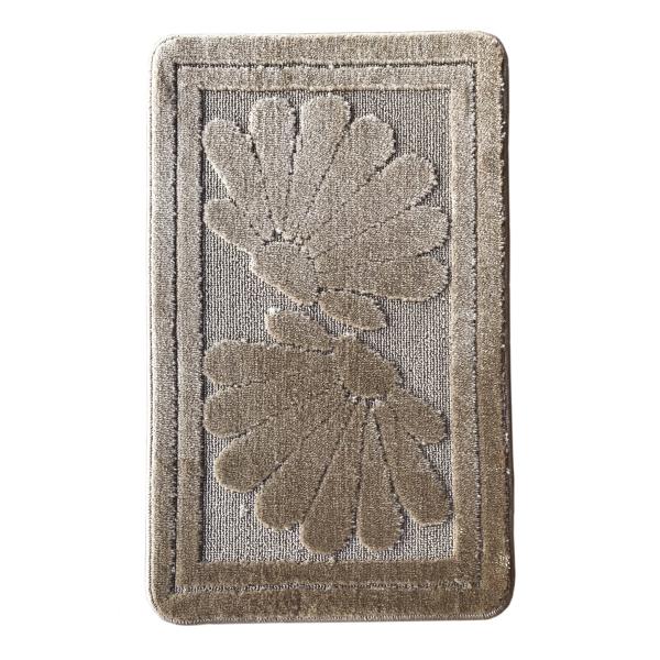 Коврик L'CADESI NADA из полипропилена на латексной основе 50x80см, коричневый