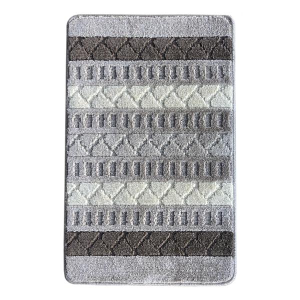 Коврик L'CADESI MARATHON из полипропилена на латексной основе, 60x100см, Geobox серый
